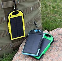 Power Bank Solar 5000 mah (с солнечной панелью)