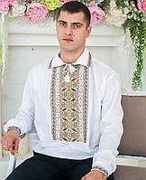 Вишита сорочка (домоткане полотно) - складна мережка