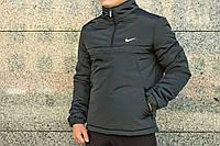 Куртка-анорак утепленная мужская Intruder с капюшоном. Код: АУ006/440