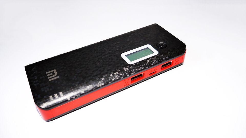 Power Bank Xiaomi Mi 20000 mAh карбон (copy)
