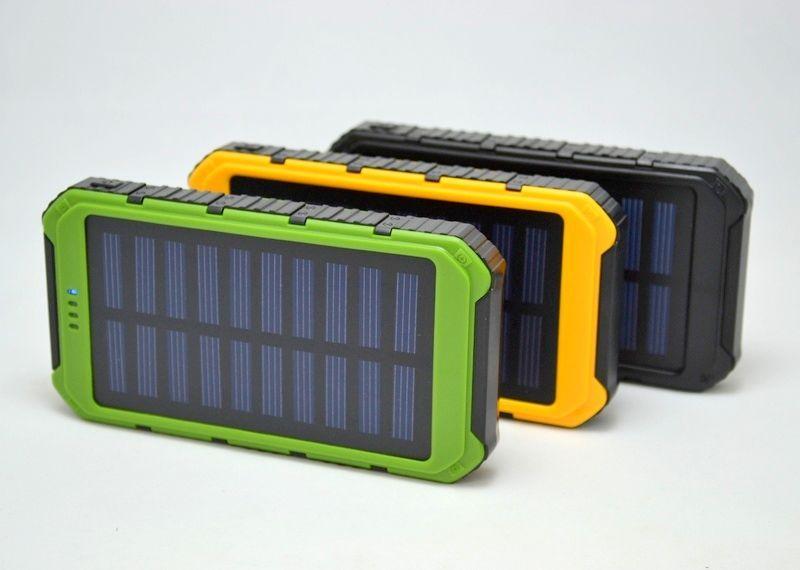 Solar Power bank Stone Power 15000 mAh противоударный