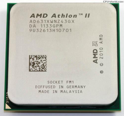 Процессор AMD Athlon II X4 631 2.6GHz Socket FM1
