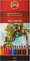 Карандаши цветные акварельные Koh-i-noor MONDELUZ 24 цвета 3718
