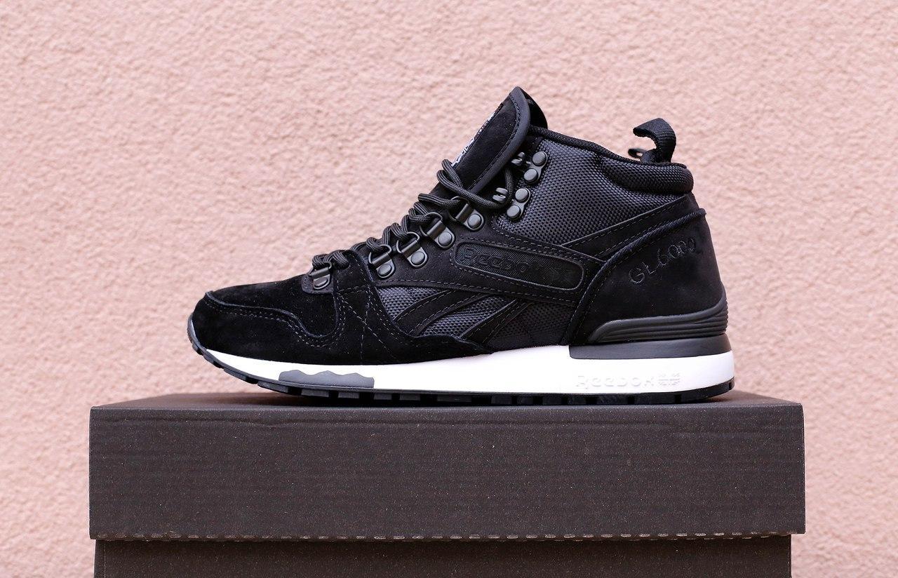 a692ba8d Зимние мужские кроссовки Reebok черные топ реплика - Интернет-магазин обуви  и одежды KedON в