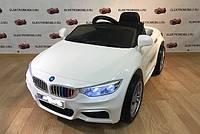 Детский электромобиль BMW RX803 LUX, Амортизаторы, EVA резина, белый