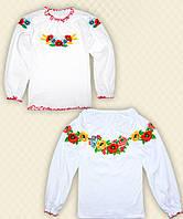 TM Dresko Вышиванка для девочки длинный рукав интерлок (93006)