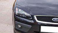 Реснички на фары Форд Фокус 2 (Ford Focus 2) (дорестайлинг)