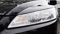 Реснички на фары Форд Фокус 2 (Ford Focus 2) (рестайлинг, 2008-2011 г.)