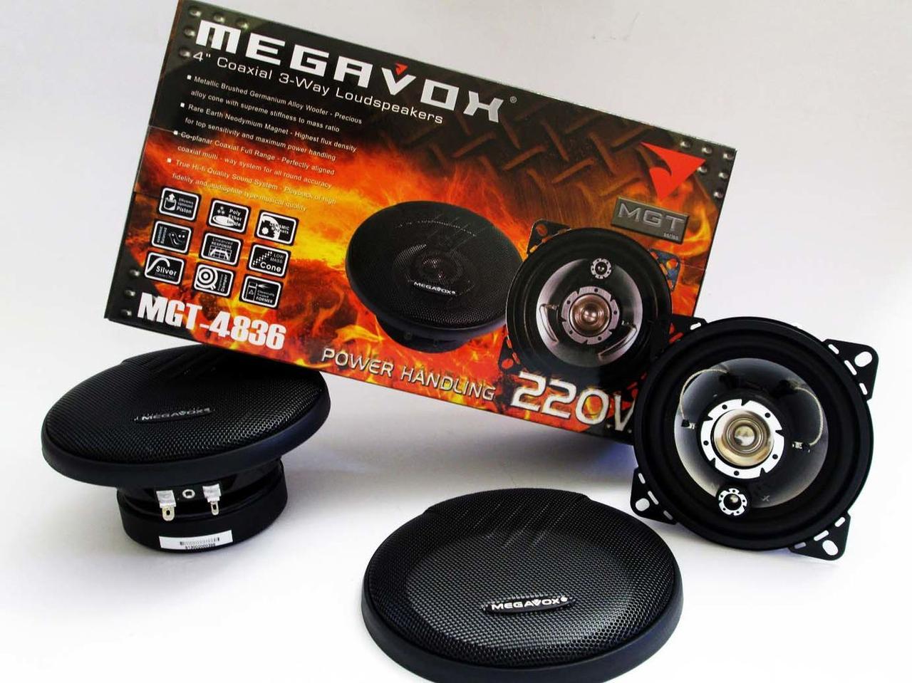 Динамики Megavox MAC-4836L (220w) 10 см