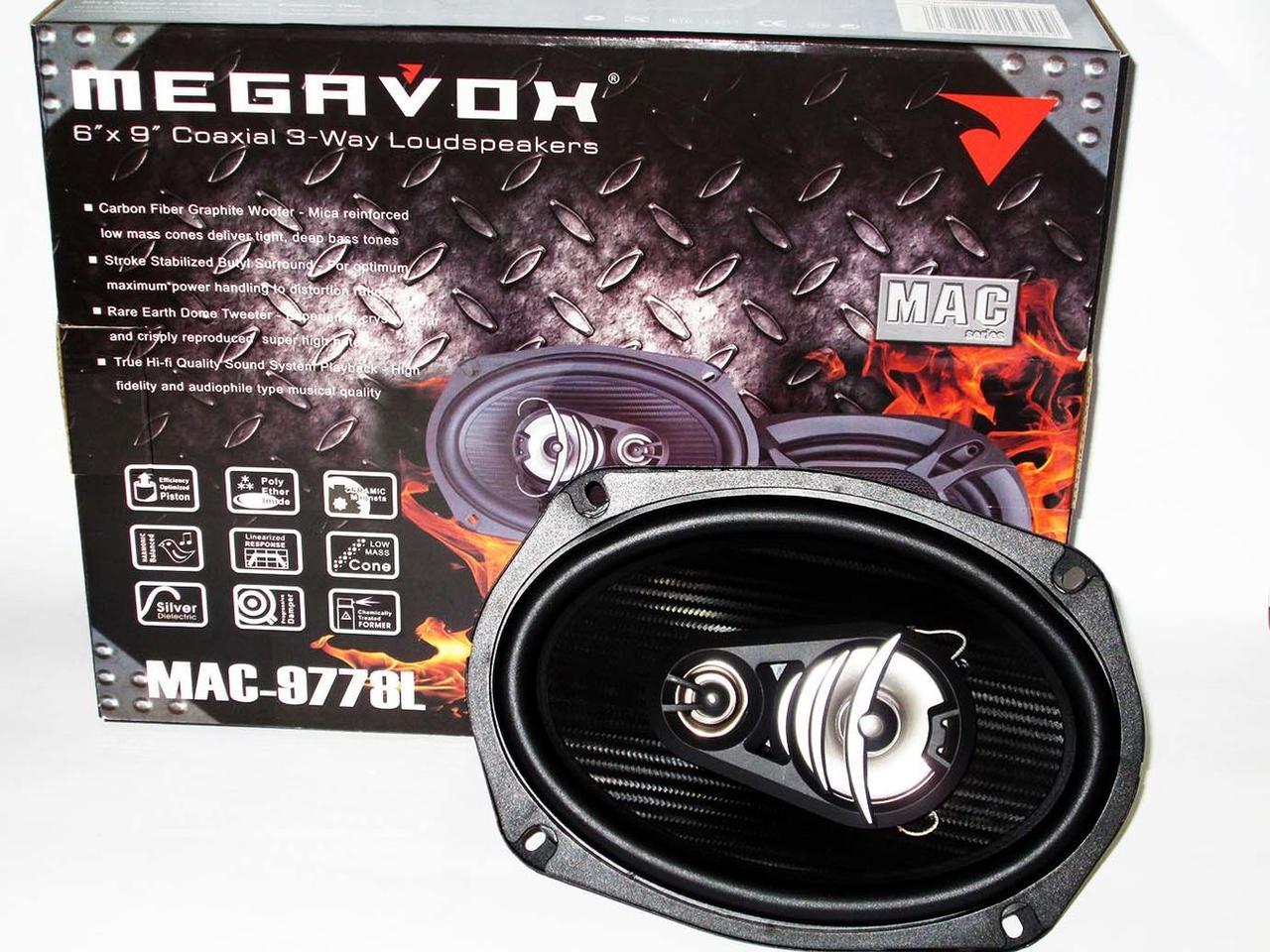 Динамики Megavox MAC-9778L (300W)
