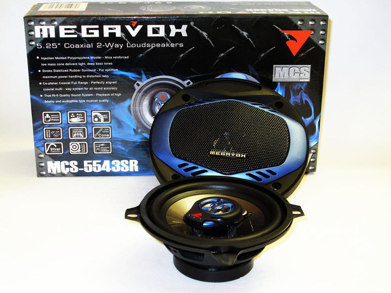 Динамики Megavox MCS-5543SR (250w) 13 см
