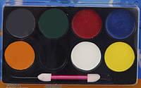 Грим-краски 8 цветов