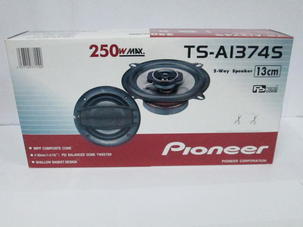 Динамики Pioneer TS-A 1374S  (250 Вт) 13 см