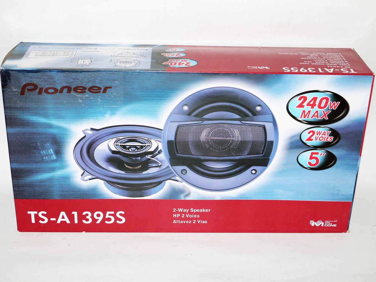 Динамики Pioneer TS-A1395S (240 Вт) 13 см