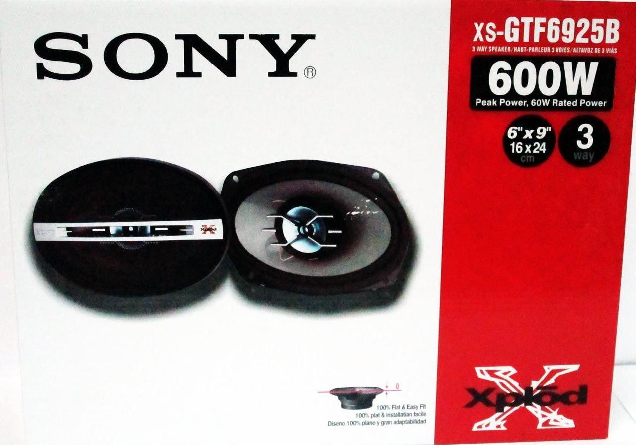 Динамики Sony XS-GTF6925 (600 Вт) четырехполосные