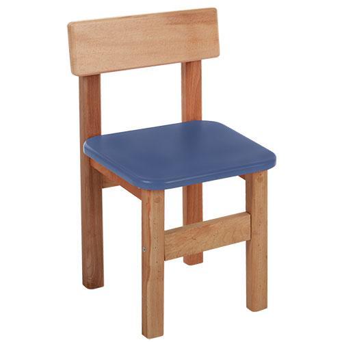 Стульчик F016  деревянный,в52-ш31-г33см,сиденье28-28см,высота до сиденья38см,синий