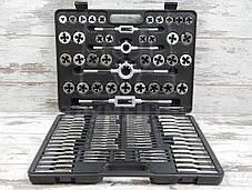 Набор метчиков и плашек Forsage B110-1 (110 предметов)