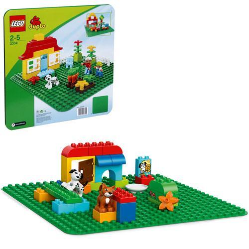 Конструктор Конструктор LEGO® DUPLO® Велика зелена будiвельна пластина