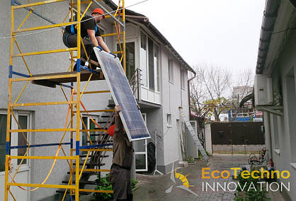 Солнечная станция на 16 кВт в Бердянске