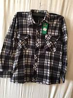 Рубашка мужская флис  46-58 купить оптом