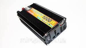 Преобразователь напряжения (инвертор) UKC 12-220V 1000W
