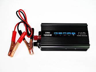 Преобразователь напряжения инвертор UKC 12-220V 1200W