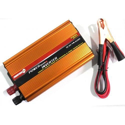 Преобразователь напряжения инвертор Powerone 24-220V 1000W