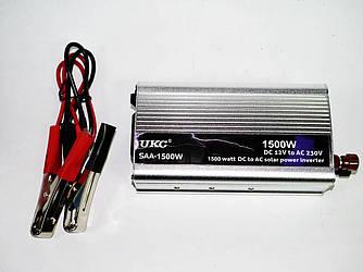 Преобразователь напряжения, инвертор UKC 1500W 12/220 В