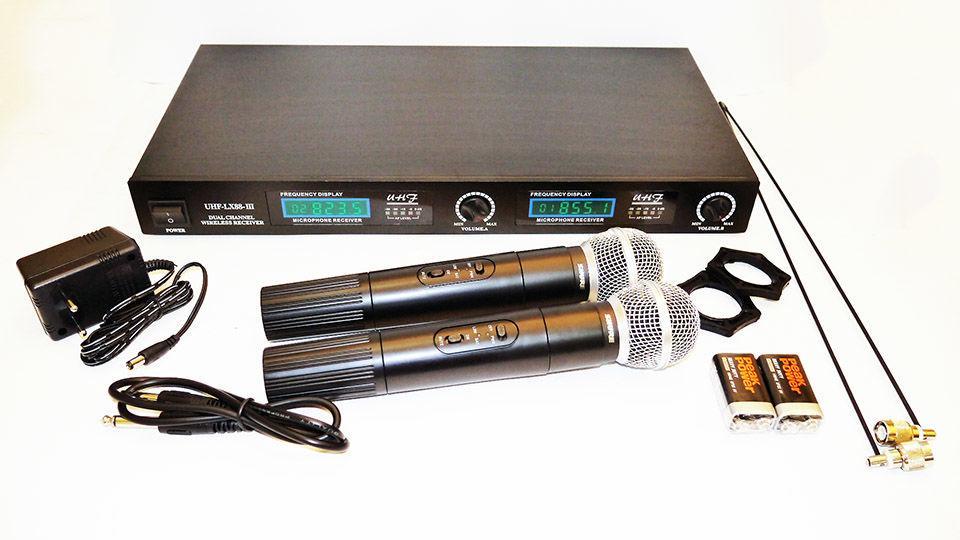 Радиомикрофон SHURE LX88-III микрофонная система (copy)