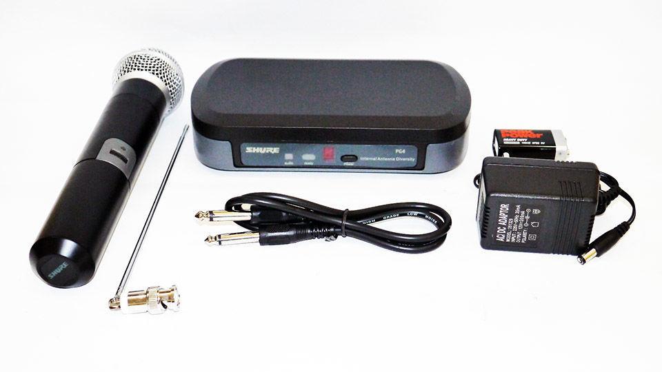 Радиосистема Shure PG4 VHF, 1 микрофон (copy)