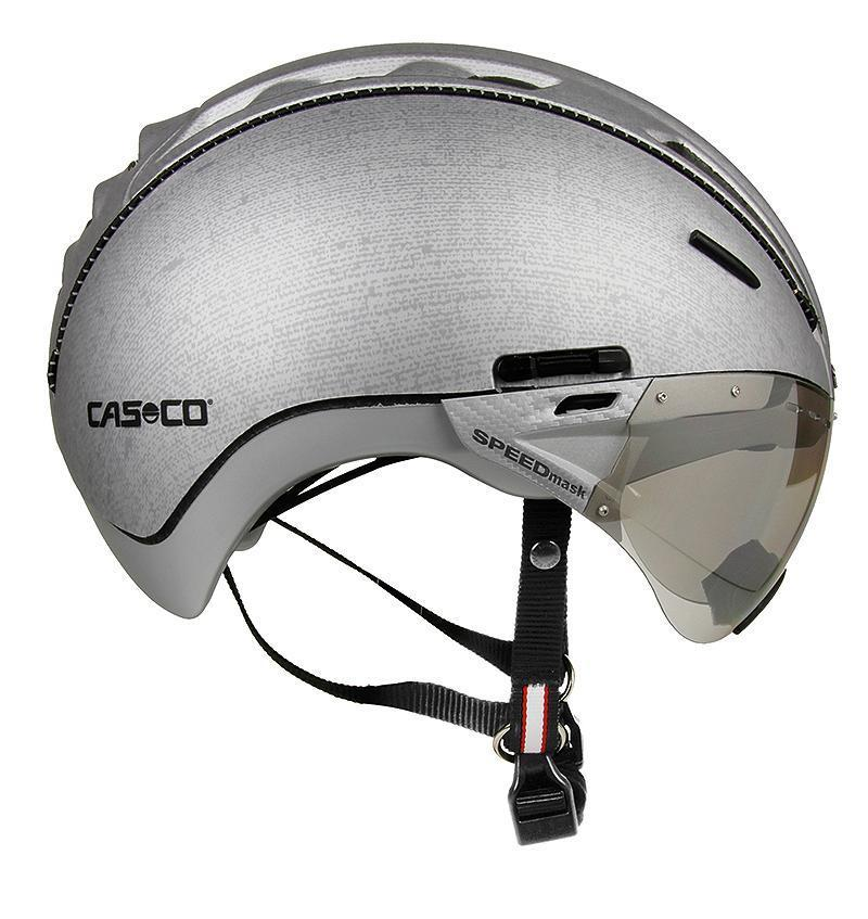 Велошлем Casco Roadster silver denim