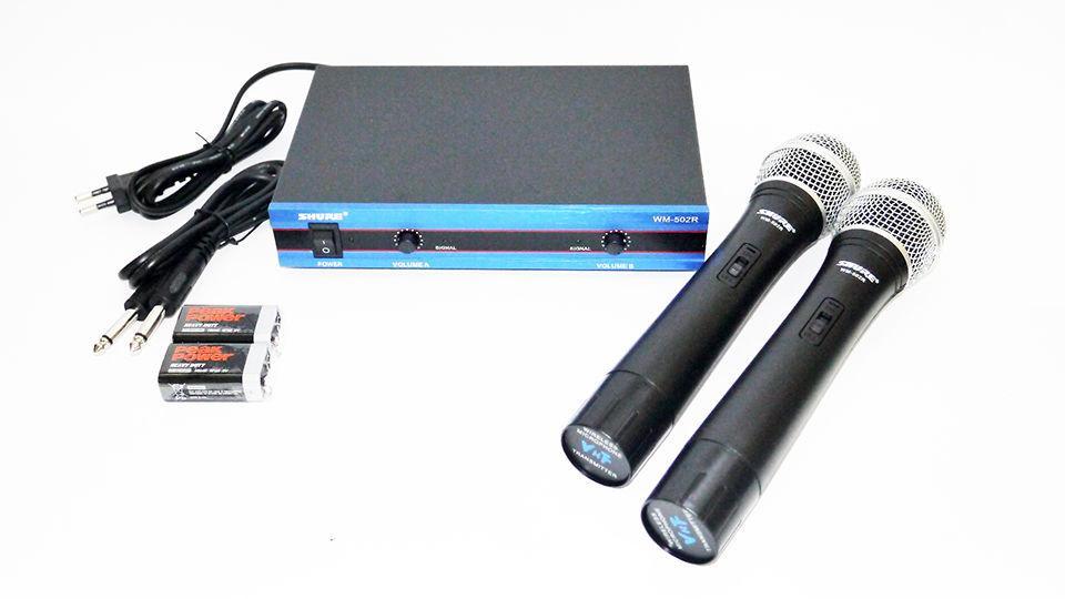 Радиосистема SHURE WM-502R база 2 радиомикрофона (copy)