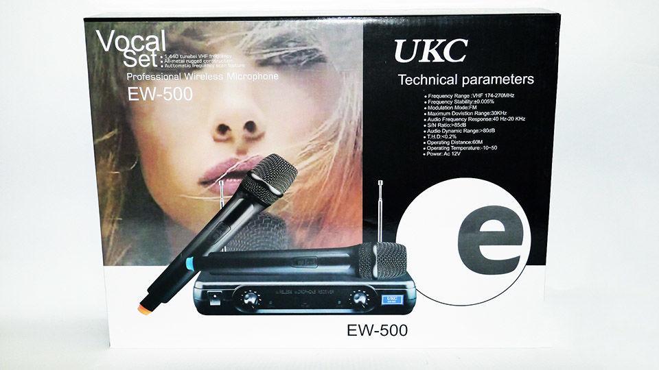 Радиосистема UKC EW 500 H с гарнитурой база 1 радиомикрофон