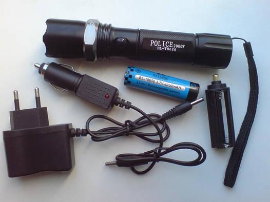 Тактический фонарик Bailong BL-8626