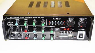 Усилитель звука UKC AV-329BT Bluetooth Караоке на 4 микрофона