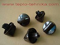 Комплект ручек для кранов газовых плит Gefest (коричневые)