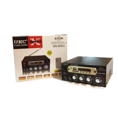 Усилитель звука UKC SN-805U на 2 микрофона.
