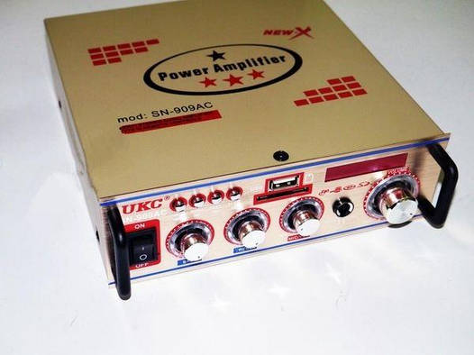 Усилитель звука UKC SN-909AC USB+SD+MP3