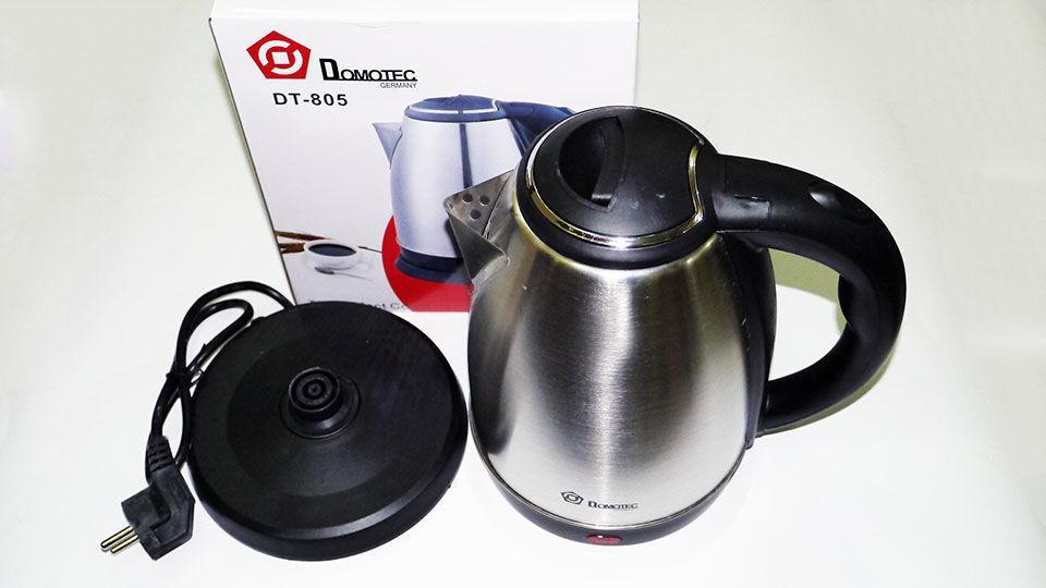 Электрический дисковый чайник Domotec DT-805