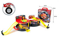 Игровой набор Гараж-паркинг Тачки (Cars 3) 6330 в чемодане