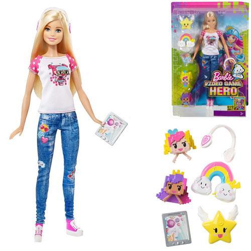 Барбі з реального світу з м/ф «Barbie: Віртуальний світ»