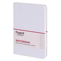 Книга записная Axent Partner Jazz 8207-21-A, 125*195 мм, клетка, белый