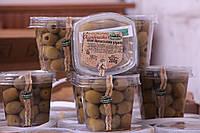 Живые оливки гиганты с косточками Ficacci из Южной Италии