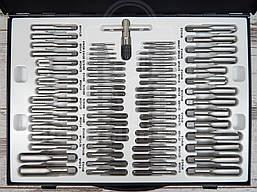 Набор метчиков и плашек FORSAGE M110-1 (110 предметов), фото 2
