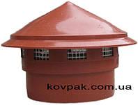 Грибок вентиляционный 110мм внутрений Помаранчевый (канализационный ), фото 1