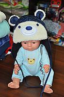 Зимняя, детская шапка фирмы Климани для мальчика 46, 48, 50 размер