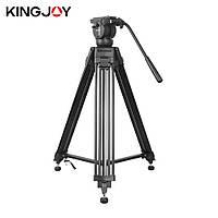 Профессиональный видеоштатив Kingjoy VT-2500 (max. нагрузка 12 кг.)