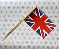 Флажок Англии. Настенная декорация для кабинета английского языка 80х46 см