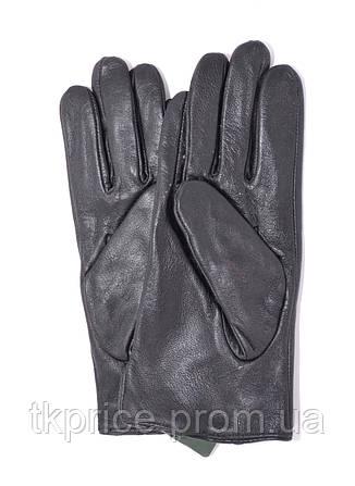 Подростковые кожаные перчатки с плюшевой подкладкой, фото 2
