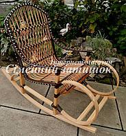 Черная кресло качалка